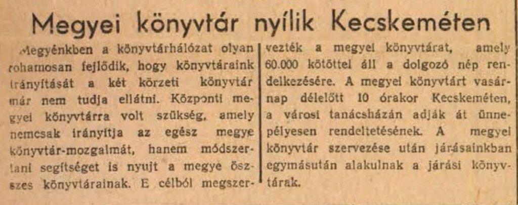 Bácskiskunmegyei Népujság, 1952. október 23.