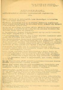 Versenyhíradó tájékoztatója 1955.