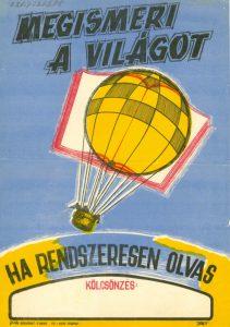 Olvasásnépszerűsítő plakát