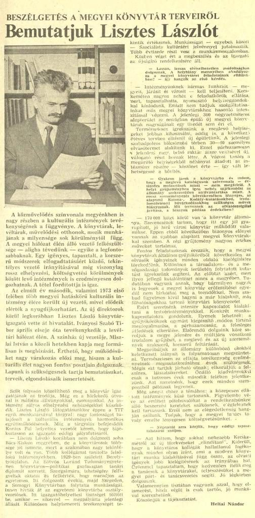 Petőfi Népe, 1973. június 13.