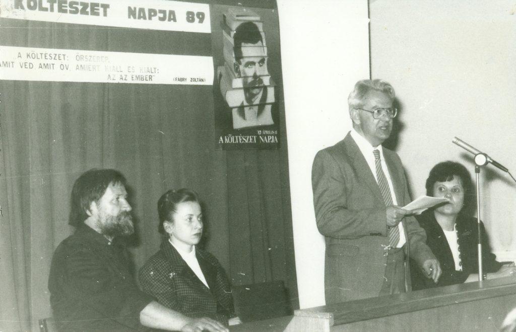 Költészet Napja, 1989