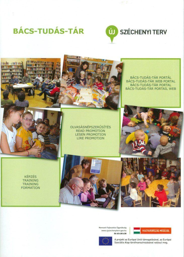 Bács-Tudás-Tár kiadvány címlapja