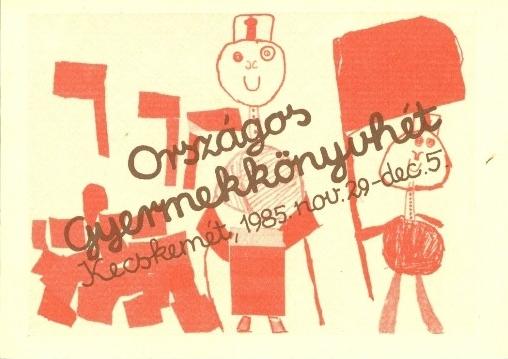 Országos Gyermekkönyvhét, 1985.