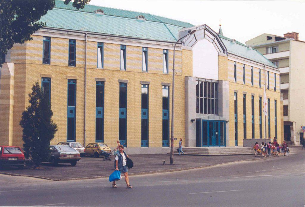 A könyvtár új épülete