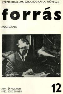 Kodály-különszám, 1982.