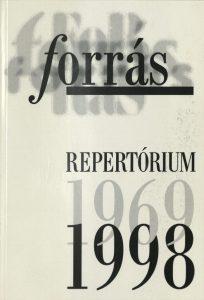 Forrás-repertórium, 1969-1998