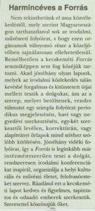 Élet és Irodalom, 1999. április 16.