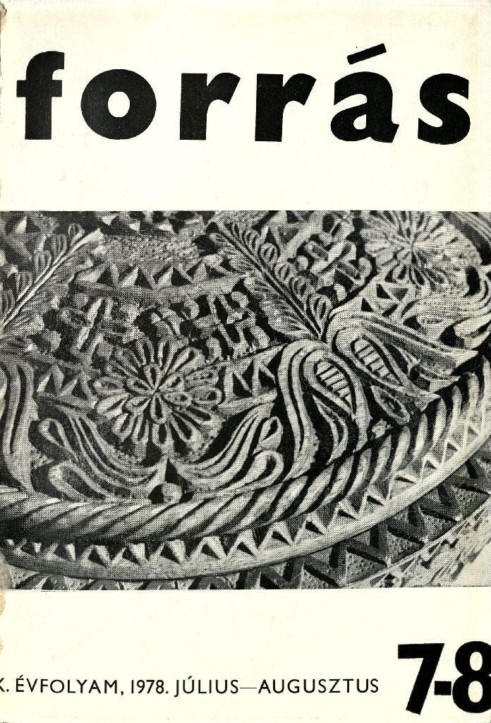 Forrás, 1978. 7-8. Folklór