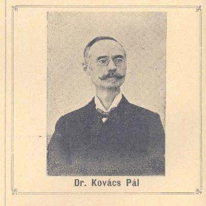 Dr. Kovács Pál : 25 éves tanári jubileuma