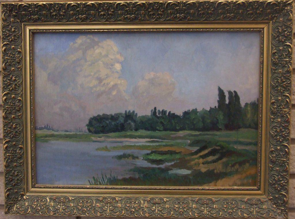 Szappanos István (1923-1999) festménye