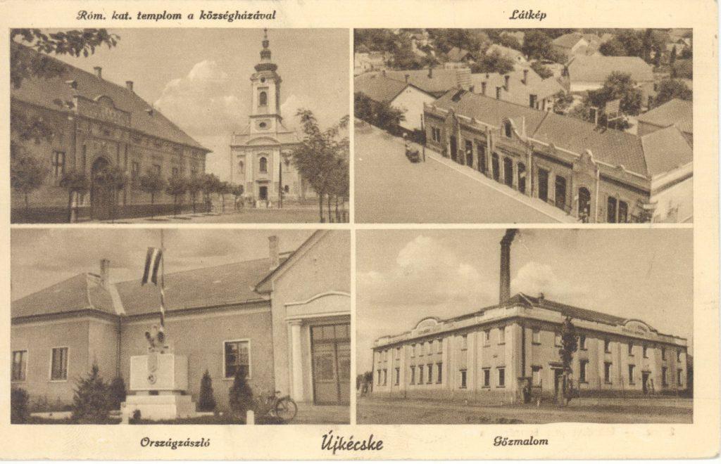 Tiszakécske - képeslap