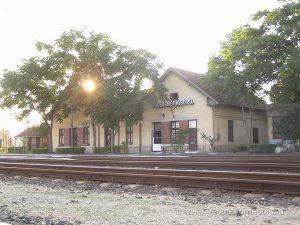 A Kecskemét alsó vasútállomás, ahonnan a szerelvények indultak Auschwitz felé. Fotó: Szente-Varga Domonkos