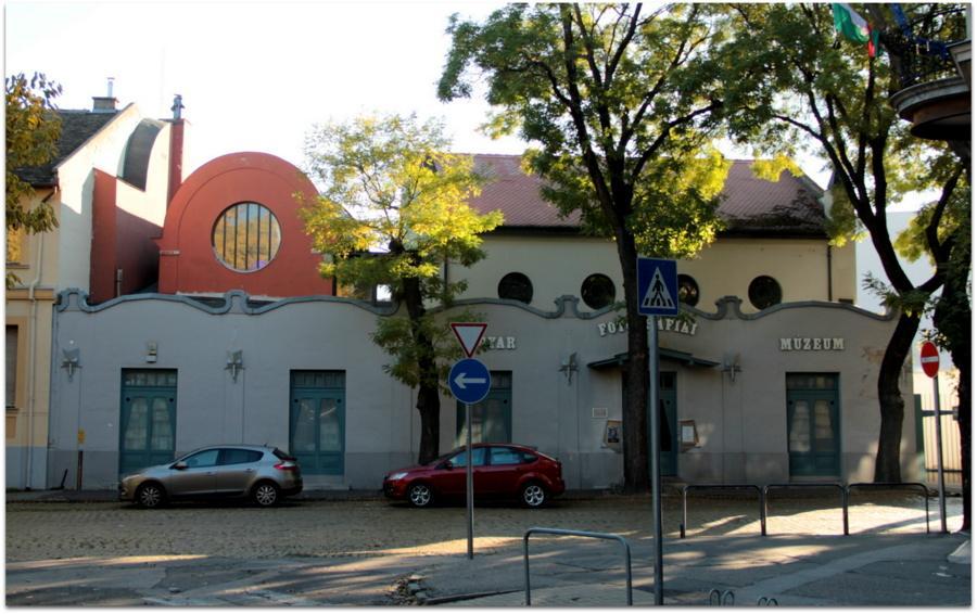 Az egykori ortodox zsinagóga Ma: Magyar Fotográfiai Múzeum