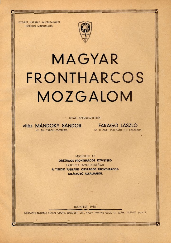 Magyar frontharcos mozgalom