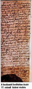 A kaftán történetének 1669-ből fennmaradt kézirata