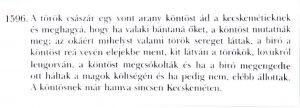 A kaftán története Katona József várostörténeti munkájából