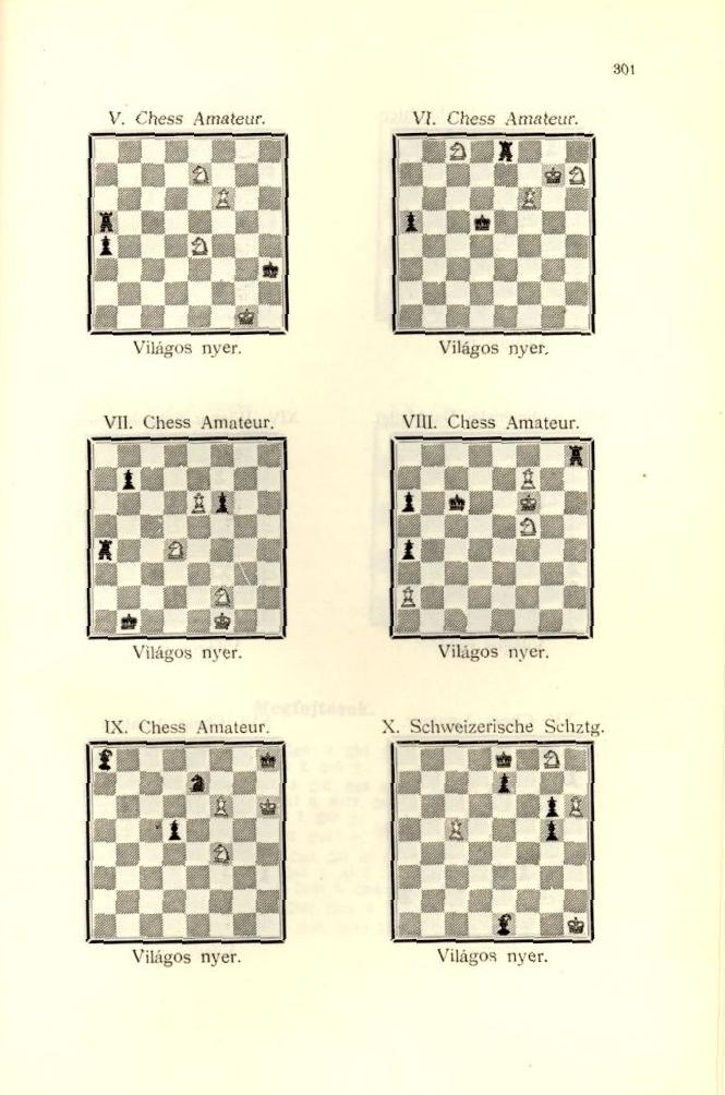 A kecskeméti nemzetközi sakkverseny 1927. c. könyv egy oldala