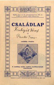 Kiss Árpád és Priszter Irma házassági anyakönyvi kivonata - 1944. február 21.