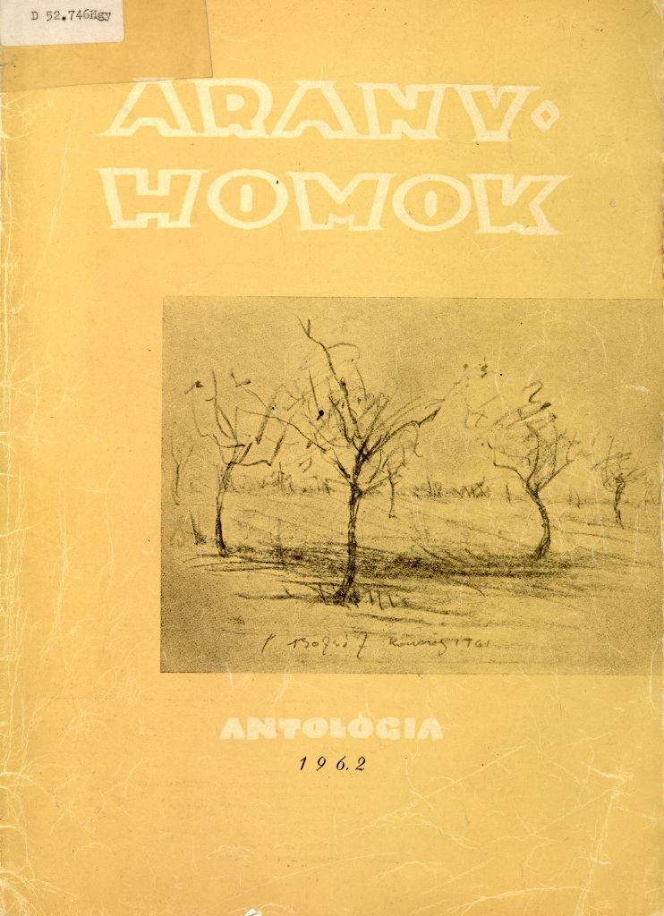 Aranyhomok antológia 1962.
