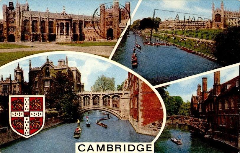 Cambridge képeslap