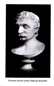 Ferenczy István szobra Mátyási Józsefről