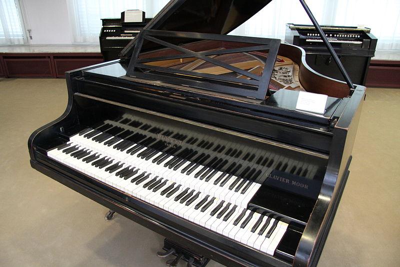 Pleyel-Moór-zongora
