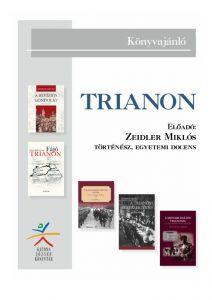 Trianon - ajánló bibliográfia