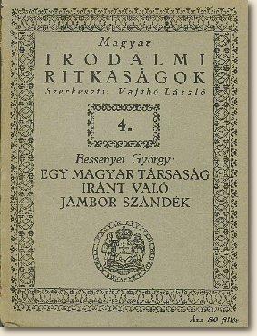Magyar irodalmi ritkaságok