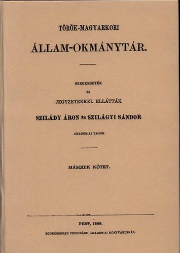 Török-magyarkori állam-okmánytár